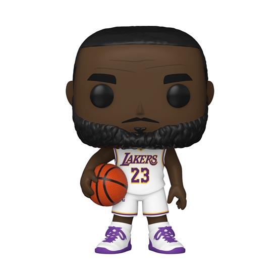 #XXX - NBA - Los Angeles Lakers - LeBron James (white jersey) | Popito.fr
