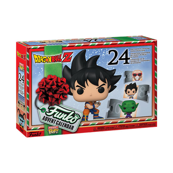 Pocket Pop! - Calendrier de l'Avent Dragon Ball Z (24 pièces) (2020) | Popito.fr