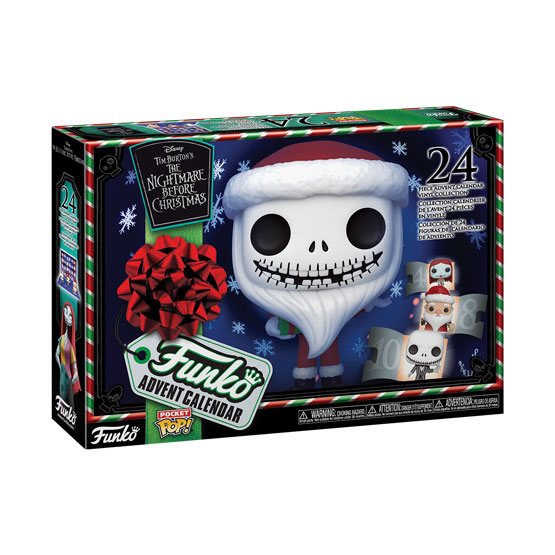 Pocket Pop! - Calendrier de l'Avent The Nightmare Before Christmas (24 pièces) (2020) | Popito.fr