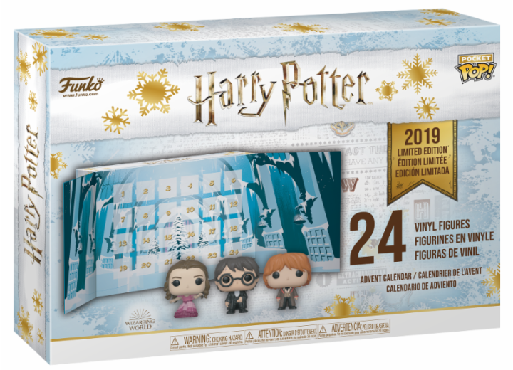 Pocket Pop! - Calendrier de l'Avent Harry Potter (24 pièces) (2019) | Popito.fr