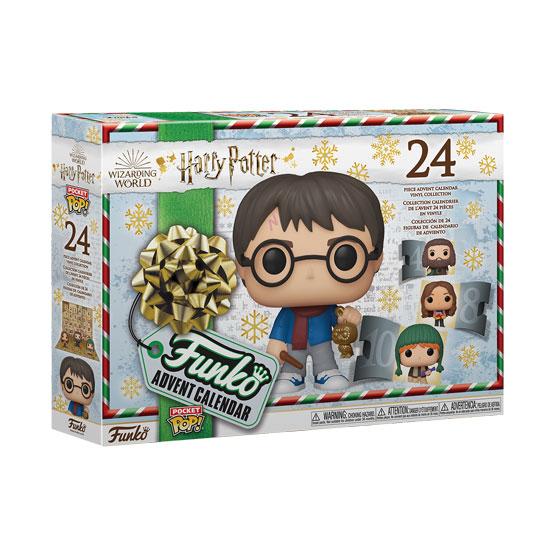 Pocket Pop! - Calendrier de l'Avent Harry Potter (24 pièces) (2020) | Popito.fr