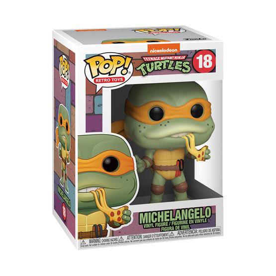 #018 - Teenage Mutant Ninja Turtles - Michelangelo | Popito.fr