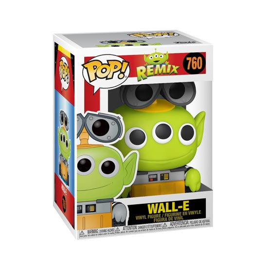 #760 - Toy Story Remix - Alien as Wall-e | Popito.fr
