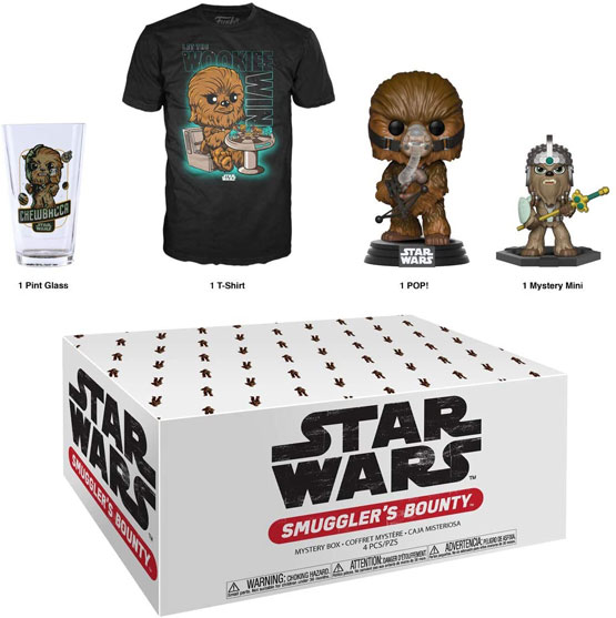 Box - Smuggler's Bounty - Wookie (t-shirt taille L) | Popito.fr