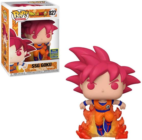 #827 - Dragon Ball Super - SSG Goku | Popito.fr