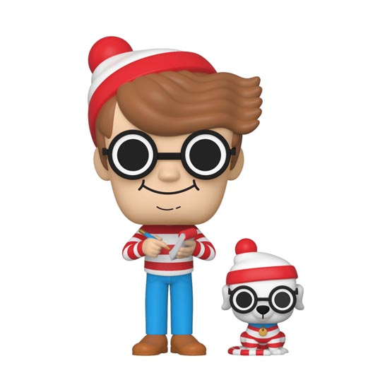 #025 - Where's Waldo - Waldo and Woof | Popito.fr