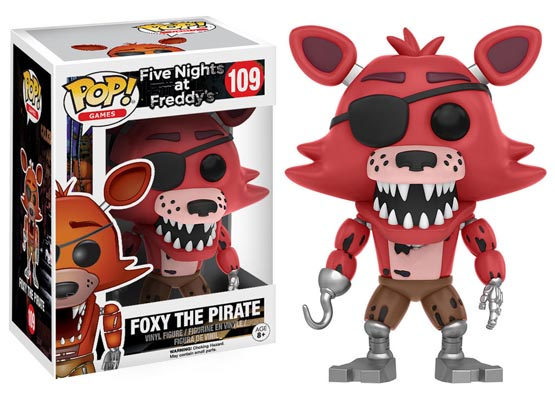 #109 - Five Nights at Freddy's - Foxy the Pirate   Popito.fr