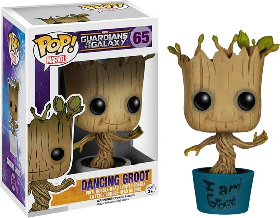 #065 - Guardians of the Galaxy - Dancing Groot (I am Groot) | Popito.fr